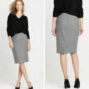 NWT J.Crew Mercantile Wool Pencil Skirt